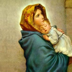 Light Master Mother Mary, giving you softness and mother love
