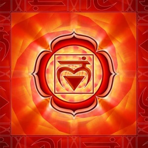 Chakra 1. the Root Chakra or Base Chakra, for health and life power