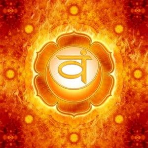 Chakra 2, the Sacral Chakra, is about emotions, pleasure and sexuality