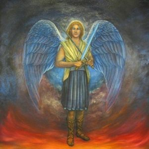 Archangel Michael, the protection from a divine helper